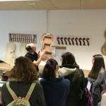 Visita del alumnado del departamento de cuerda frotada del Conservatorio Profesional de Música Pablo Sarasate de Pamplona