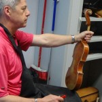 """A new tool for violin making"" Workshop with Peter Westerlund"