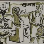 Visita de Dibujatolrato a BELE