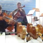 Probando los instrumentos