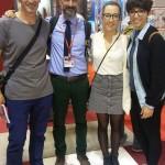Luis, Francesco Toto, Lena y  Rocio