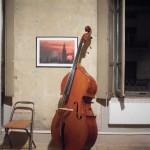Contemporary violin making exhibition at the Stradivariazione headquarters.2
