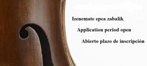 Application period to access BELE basque violin making school