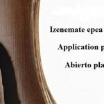Abierto plazo de inscripción para prueba de acceso, BELE escuela de luthería