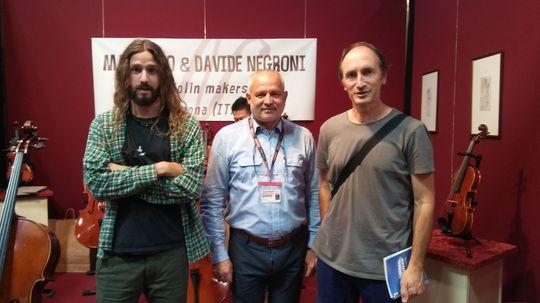 Pedro (alumno de Bele), Massimo Negroni y Luis