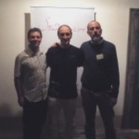 Miembros de la Asociación Stradivariazioni: Ivo Juliano y Borja Bernabeu.