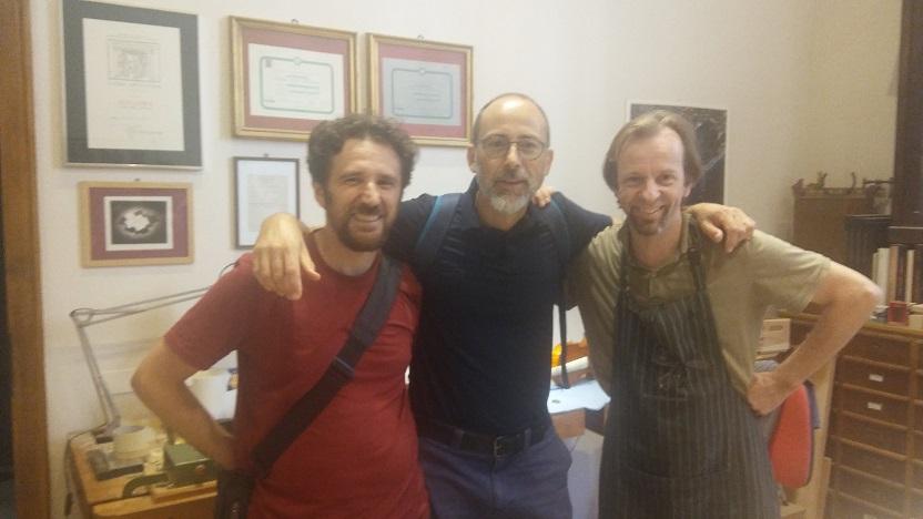Manuel, Borja eta Michele