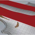 Hubo mucho trabajo de diseño y ajuste de las superficies...